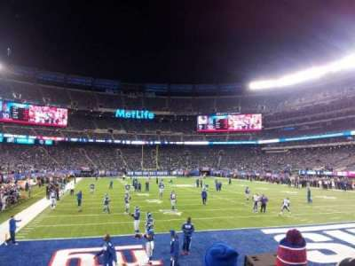 MetLife Stadium, section: 129, row: 6, seat: 3