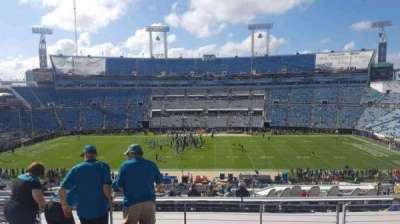 EverBank Field, section: 236, row: F, seat: 16