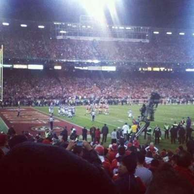 Candlestick Park section LB 19