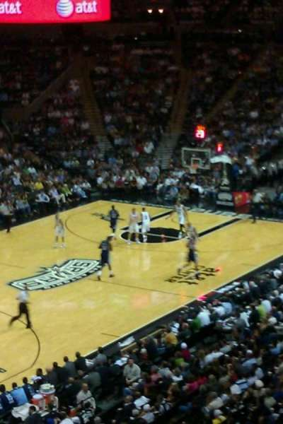 AT&T Center, section: Super Box, row: 5, seat: 6