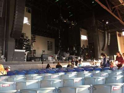 Starplex Pavilion, section: 102, row: N, seat: 16