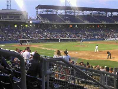 Harbor Park, section: 216, row: R, seat: 2