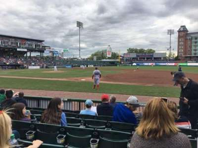 Northeast Delta Dental Stadium, section: 114, row: G, seat: 9