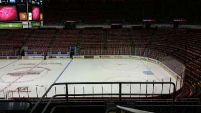Joe Louis Arena, section: 206, row: 5, seat: 1
