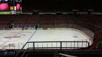 Joe Louis Arena, section: 206, row: 5, seat: 1