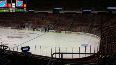 Joe Louis Arena, section: 204B, row: 5, seat: 8
