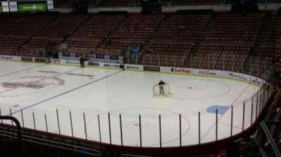 Joe Louis Arena, section: 204A, row: 5, seat: 2