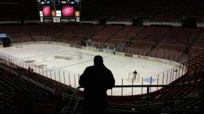 Joe Louis Arena, section: 203C, row: 5, seat: 19