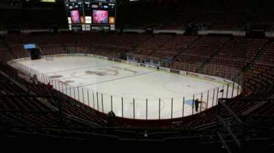 Joe Louis Arena, section: 203B, row: 5, seat: 14