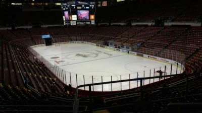 Joe Louis Arena, section: 203A, row: 5, seat: 3