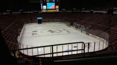 Joe Louis Arena, section: 202A, row: 5, seat: 2