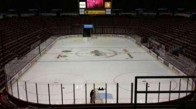 Joe Louis Arena, section: 201, row: 5, seat: 2