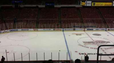 Joe Louis Arena, section: 223, row: 5, seat: 3