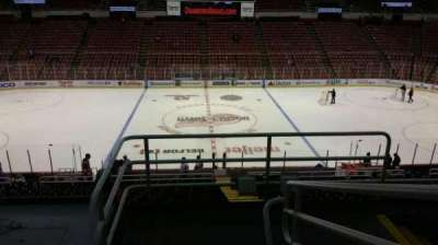 Joe Louis Arena, section: 222, row: 5, seat: 2