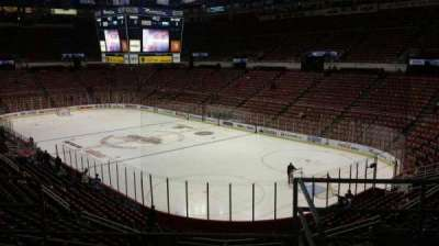 Joe Louis Arena, section: 217B, row: 5, seat: 13