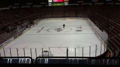 Joe Louis Arena, section: 214, row: 5, seat: 6