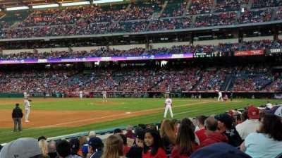 Angel Stadium, section: 108, row: J, seat: 15