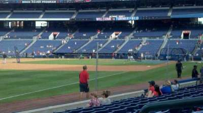 Turner Field, section: 124, row: 10, seat: 2