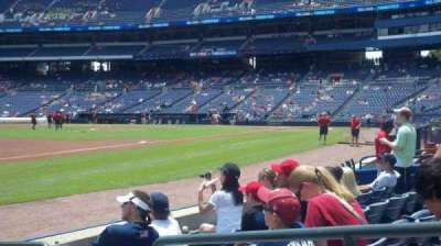 Turner Field, section: 120, row: 5, seat: 2