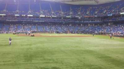 Tropicana Field, section: 145, row: T, seat: 17