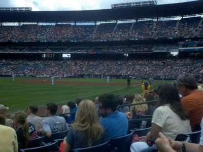 Turner Field, section: 124, row: 9, seat: 7