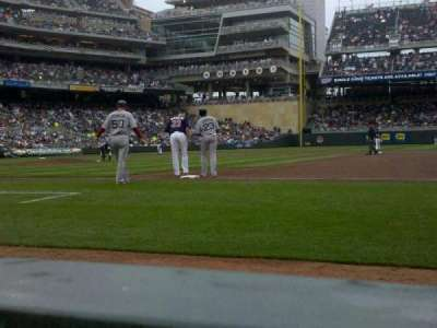 Target Field, section: 5, row: 1, seat: 4