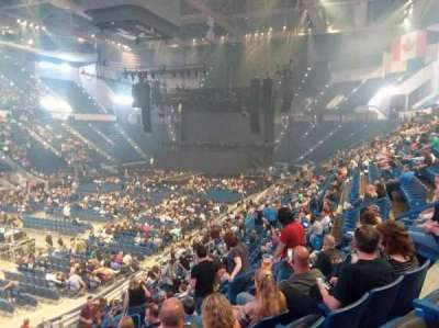 XL Center, section: 119, row: V, seat: 9