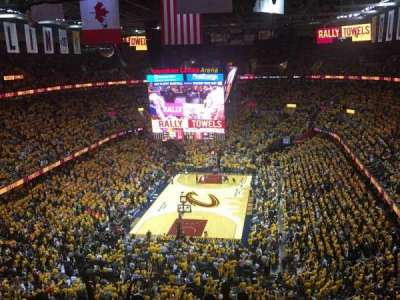 Quicken Loans Arena, section: 201, row: 9, seat: 8