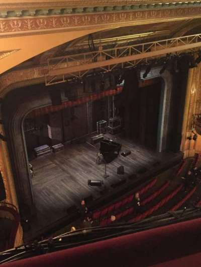 Walter Kerr Theatre, section: Balcony Left, row: A, seat: 41