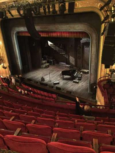 Walter Kerr Theatre, section: Mezzanine Right, row: G, seat: 26