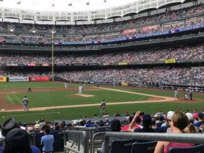 Yankee Stadium, section: Field MVP 125, row: 10, seat: 1