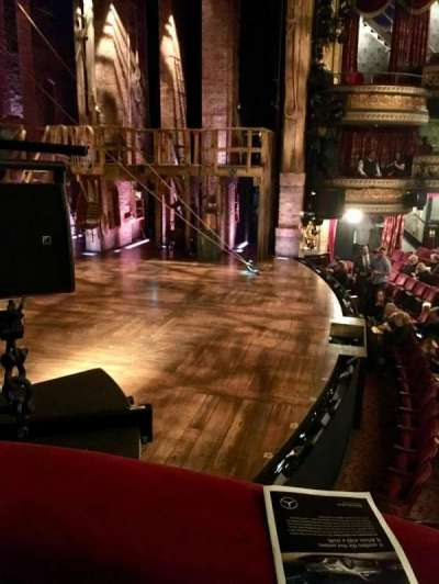 Richard Rodgers Theatre, section: Box A, row: 1, seat: 1