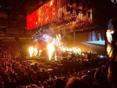 Intrust Bank Arena, section: 102, row: M, seat: 5