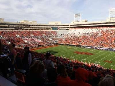 Boone Pickens Stadium, section: 302, row: 22