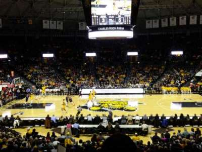 Charles Koch Arena, section: 108, row: 22
