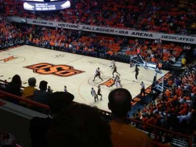 Gallagher-Iba Arena, section: 315, row: 5