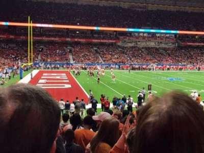 Alamodome, section: 138, row: 11, seat: 13