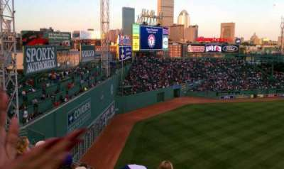 Fenway Park, section: Pavilion Box 18, row: 6, seat: 13