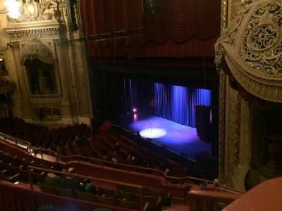 Chicago Theatre, section: Box 11, row: A, seat: 20