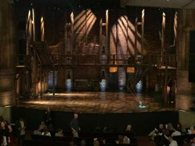 CIBC Theatre, section: Dress Circle C, row: A, seat: 210