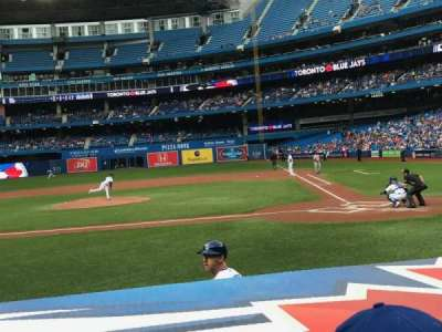 Rogers Centre, section: 125R, row: 9, seat: 8