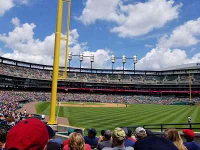 Comerica Park, section: 110, row: Maybe row 10, seat: 13
