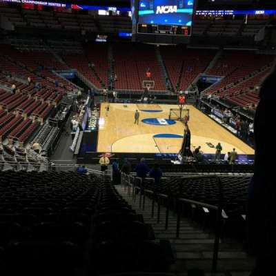 KFC Yum! Center, section: 112, row: GG, seat: 1