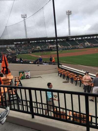 Joker Marchant Stadium section Pepsi Pavilion