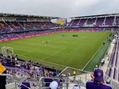 Exploria Stadium, section: 122, row: H, seat: 21