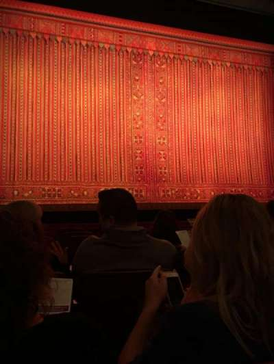 Cadillac Palace Theater, section: Orchestra, row: G, seat: 102,103