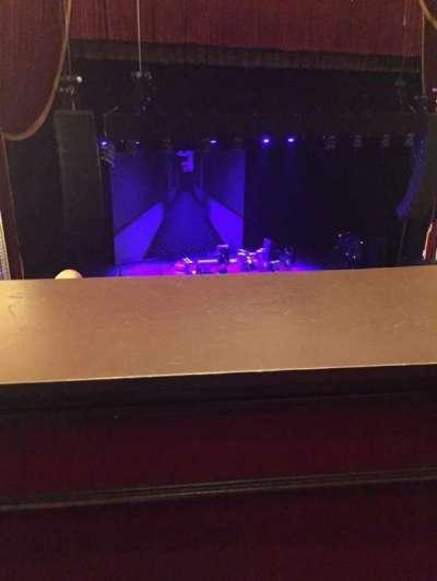 Wang Theatre, section: Mezzanine, row: A