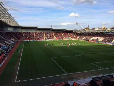 New York Stadium, section: SS6, row: P, seat: 140