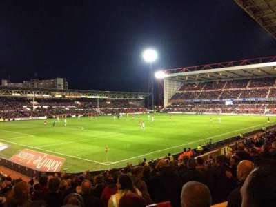 City Ground, section: W1, row: S, seat: 35