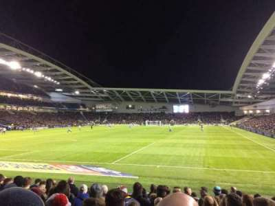 American Express Community Stadium, section: S1C, row: J, seat: 795